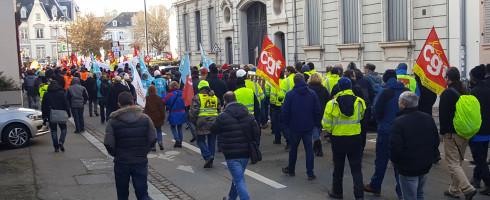 10 décembre 2019 – Mulhouse 68 – APPEL NATIONAL à la GREVE GÉNÉRALE